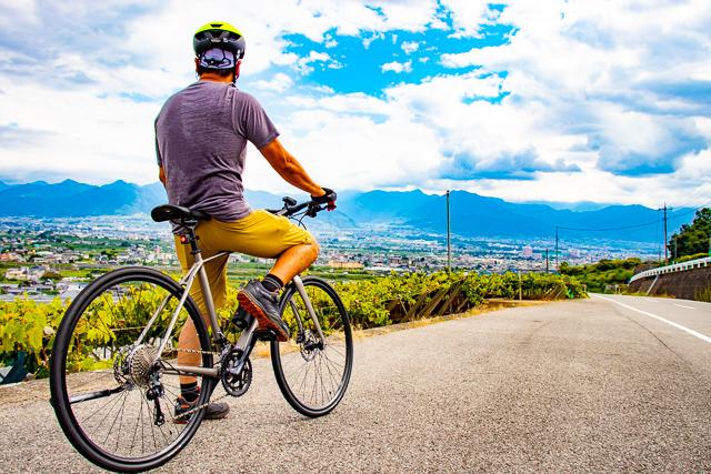 高性能クロスバイクで秋のサイクリングを楽しもう!! FX Sport 4&Verve+でゆく、山梨市フルーツラインパフェライド