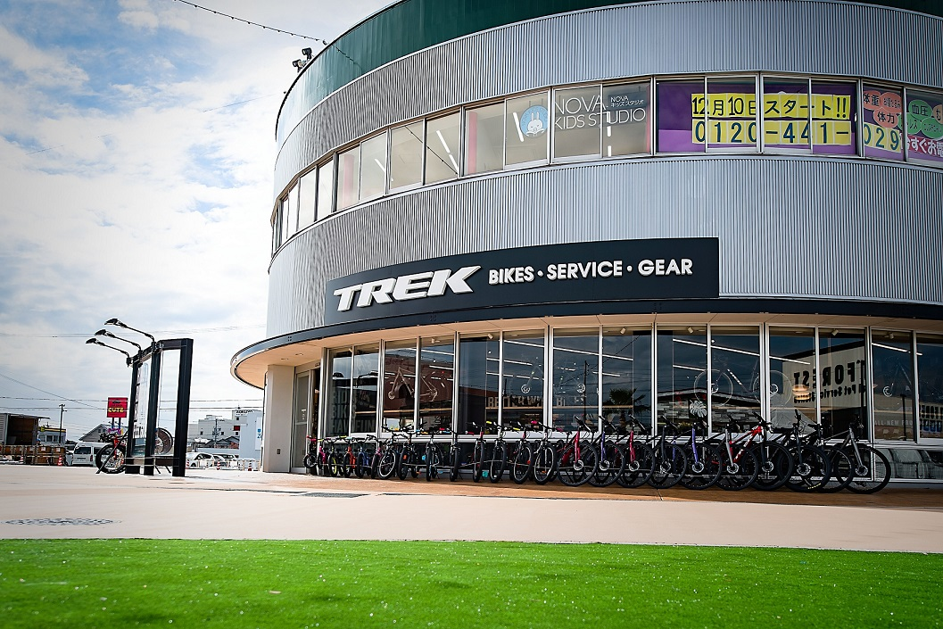 【本日OPEN!!✨】TREK Bicycleカラフルタウン岐阜、オープンのご挨拶