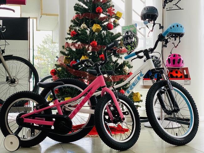☆クリスマスプレゼント用キッズバイクのご予約受付中です!