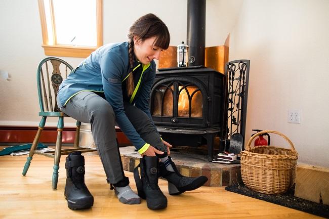 冬ライドの必須アイテム「シューズカバー」で足元を暖かく快適に!