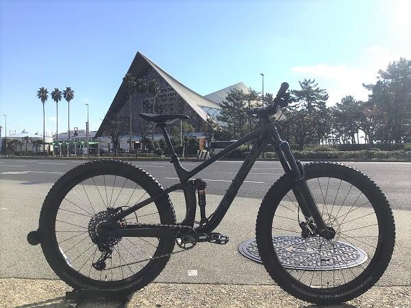 【試乗車追加のご案内】フルサスペンションタイプの本格マウンテンバイク「FUEL EX8」ご用意しております!