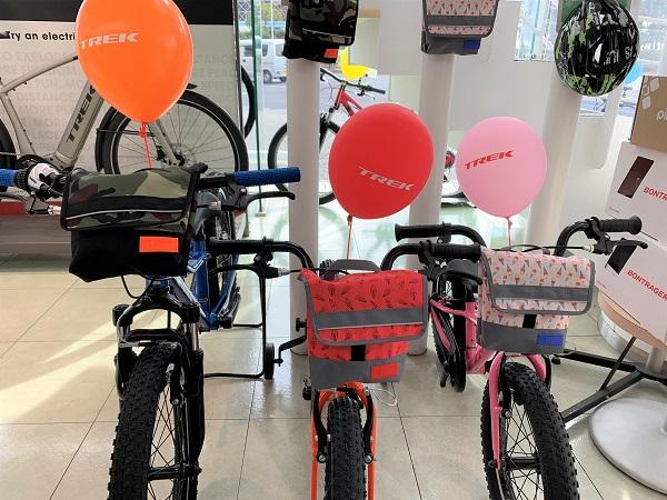 可愛い自転車バッグ「Bontrager Kids Handlebar Bag」が数量限定で入荷!