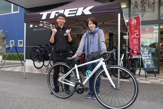 【Happy New Bike Day】甲府・納車シーン~ロードバイクDomane AL3WSD