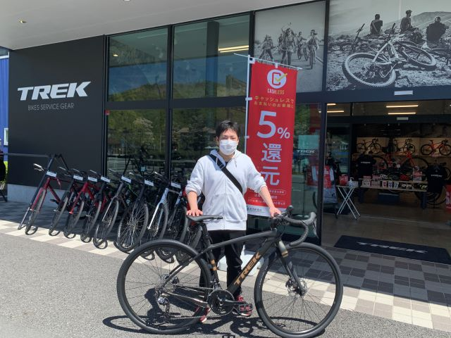 【Happy New Bike Day ! 】~甲府店 納車シーン~Checkpoint SL5