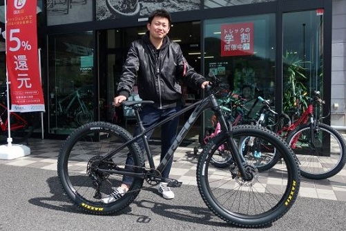 【Happy New Bike Day ! 】~甲府店 納車シーン~ROSCOE 7