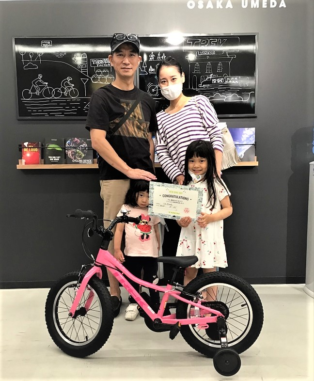 【Happy New Bike Day ! 】大阪梅田店~ご納車シーン~Precaliber16~