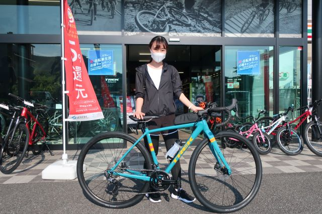 【Happy New Bike Day ! 】~甲府店 納車シーン~2021 Checkpoint ALR 5
