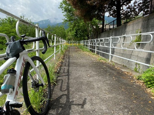【岩下ちゃんのRide On!! Vol.4】釜無川サイクリングロードへGo!