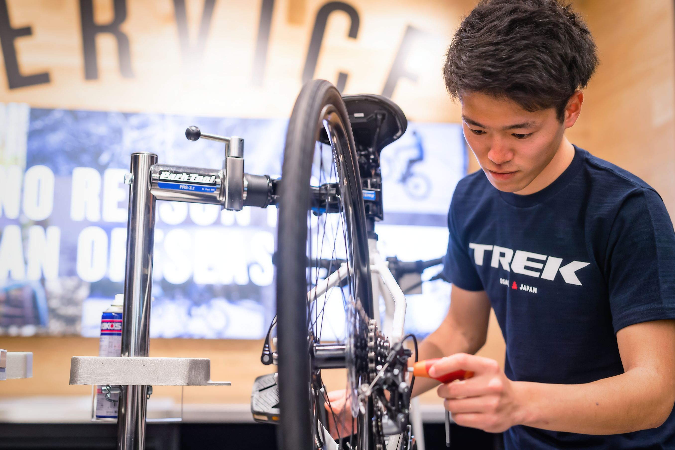 スポーツ自転車のメンテナンスはトレック直営店へ!はじめての方も安心