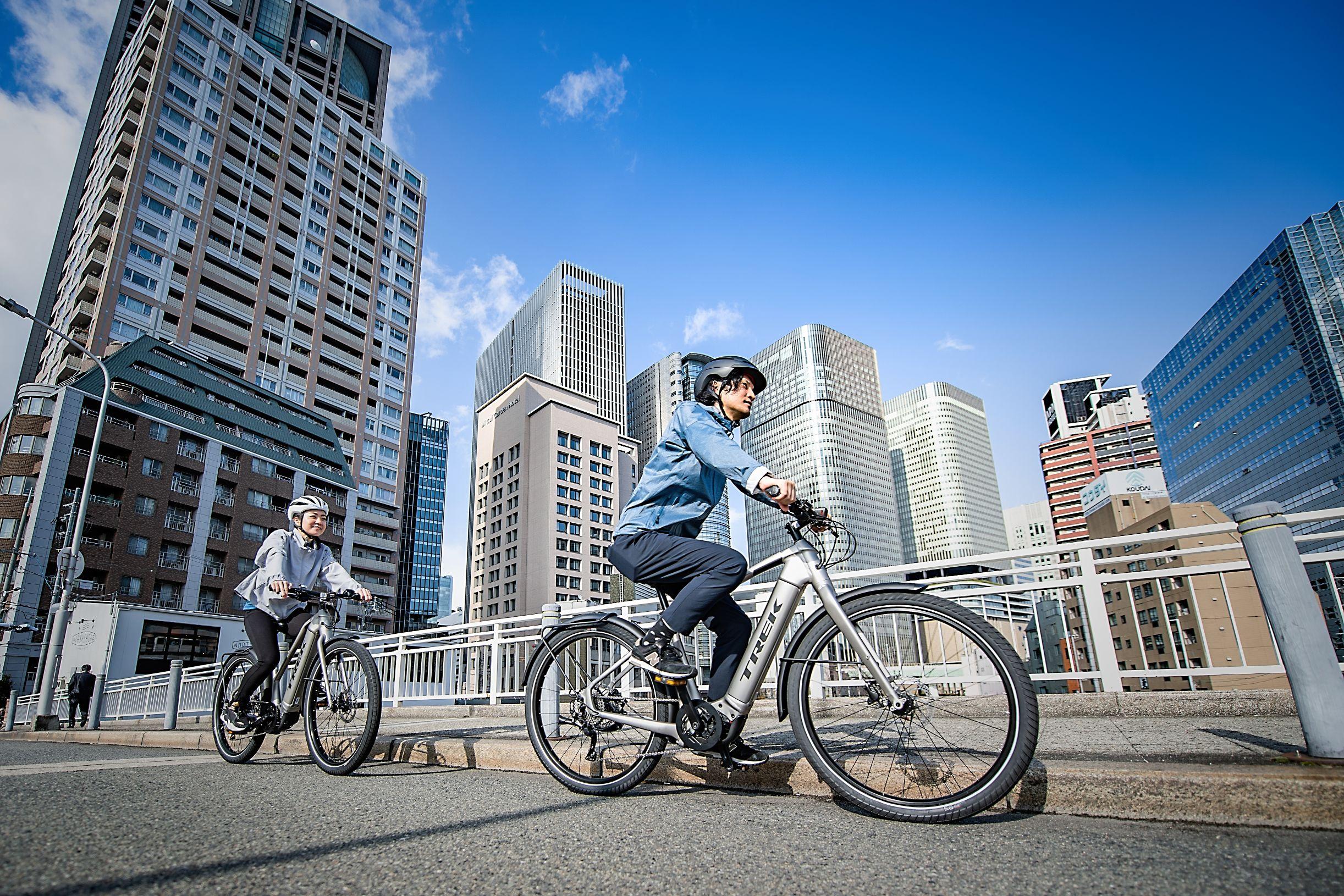 電動アシスト付き「e-bike」で快適な自転車生活をはじめよう