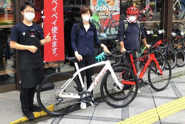 【Happy New Bike Day ! 】大阪梅田店~ご納車シーン~DomaneSL6~