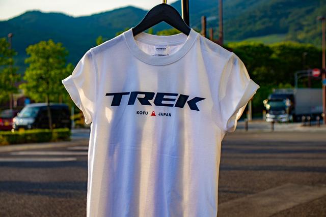 TREKご当地Tシャツ発売中! 甲府は富士山デザインです