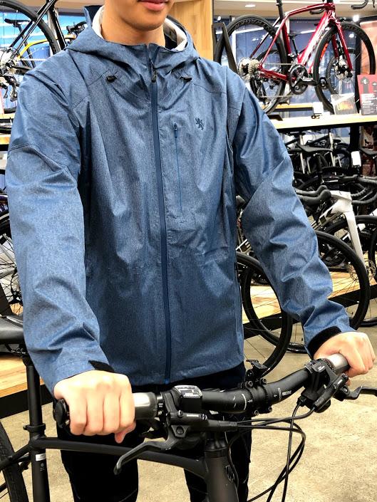 雨☂でも自転車を楽しみたい!雨の日のサイクリングコーデ!