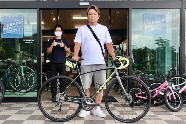 【Happy New Bike Day ! 】~甲府店 納車シーン~2021 Émonda ALR 4 Disc