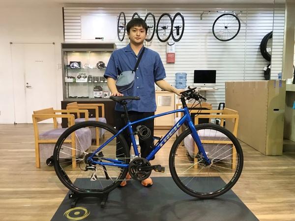 【Happy New Bike Day!!】クロスバイクでUber Eats始めます!