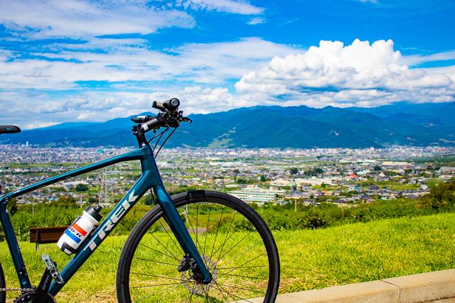 軽量カーボンクロスバイクFX Sport Carbon4で広域農道を走ってみた