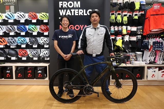 【Happy New Bike Day ! 】納車シーン~名古屋星が丘テラス店~