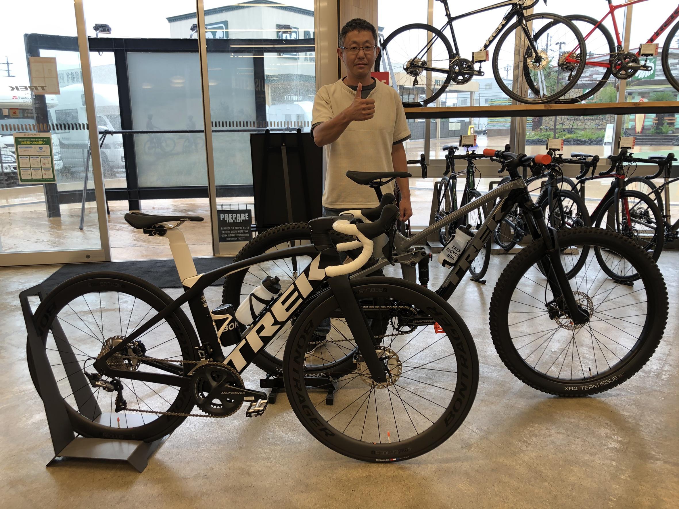 【Happy New Bike Day!!】ロードとMTBどちらも楽しんでいます!