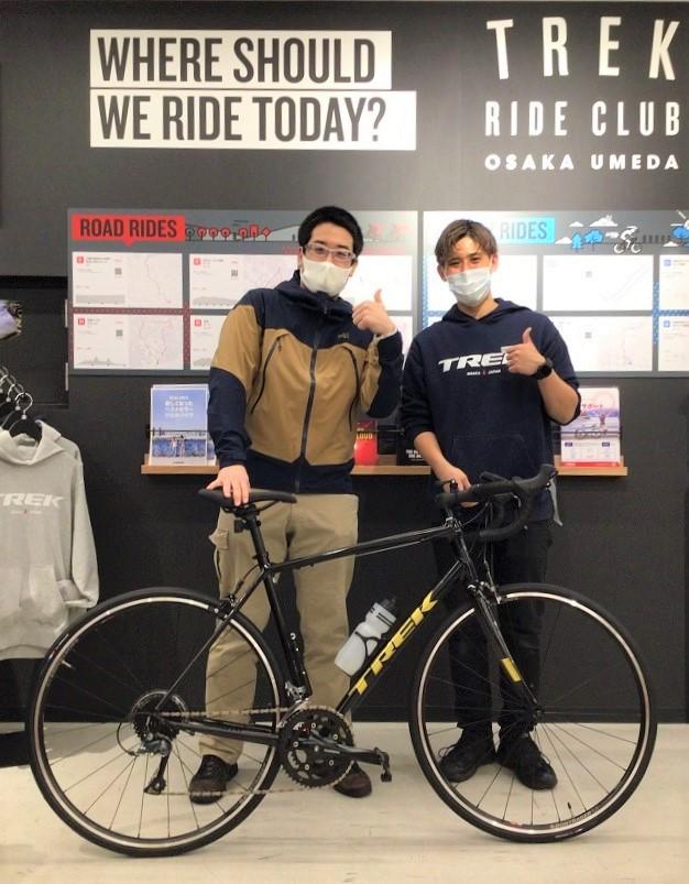 【Happy New Bike Day ! 】大阪梅田店~ご納車シーン~DOMANE AL2 ~
