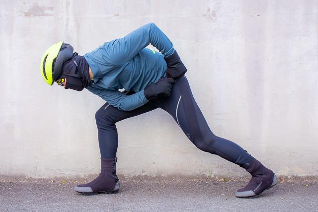 氷点下の寒い冬でも元気に走ろう! 厳冬期対応サイクリングアパレル!!