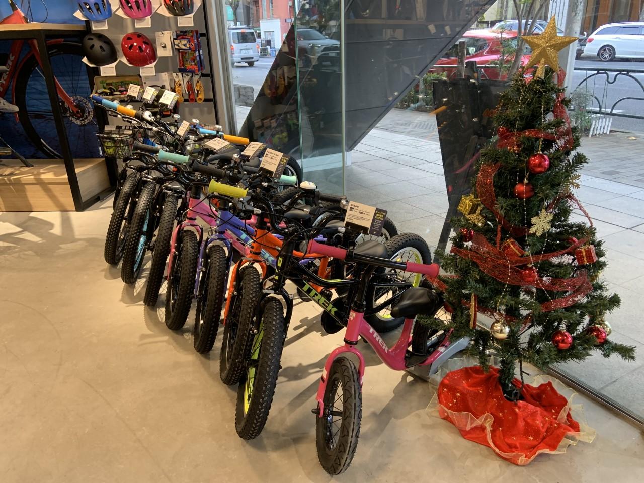 【お子さまのクリスマスプレゼントにぜひ!】キッズバイク入荷しております!
