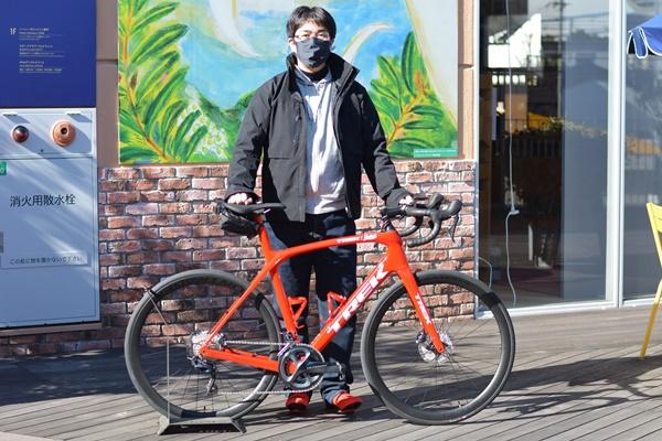 【Happy New Bike Day !】目指せ琵琶イチ!!Domane SLR 6 ご納車いたしました!