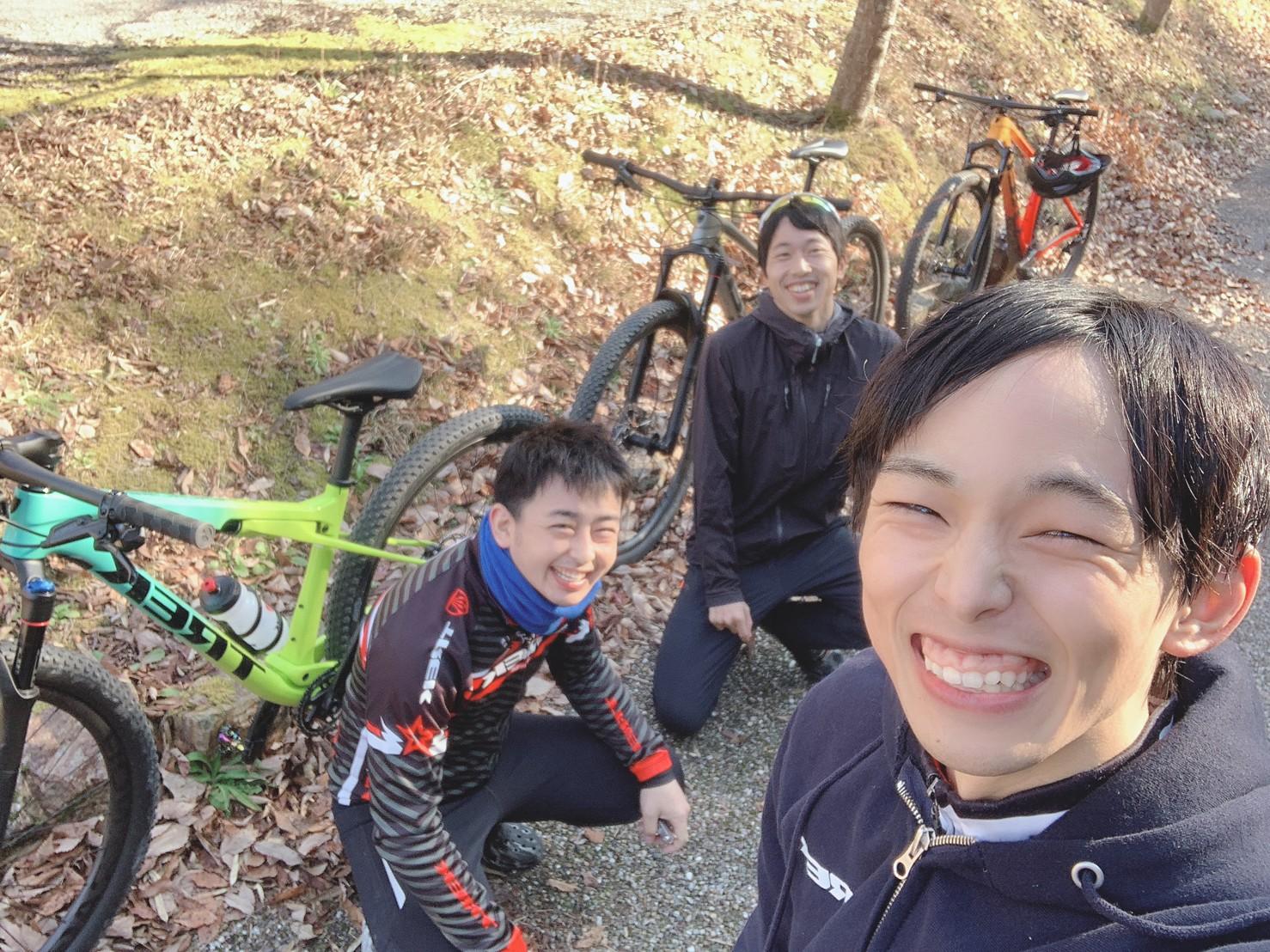 獲得標高1000m獲るまで帰れま千(せん)! in 各務原自然遺産の森MTBコース