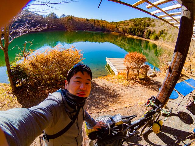【ゆるキャン△】グラベルバイクで四尾連湖へキャンプライド!