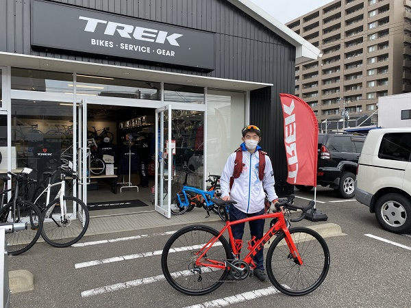 【Happy New Bike Day!】~TREK Bicycle新潟店 納車シーン~