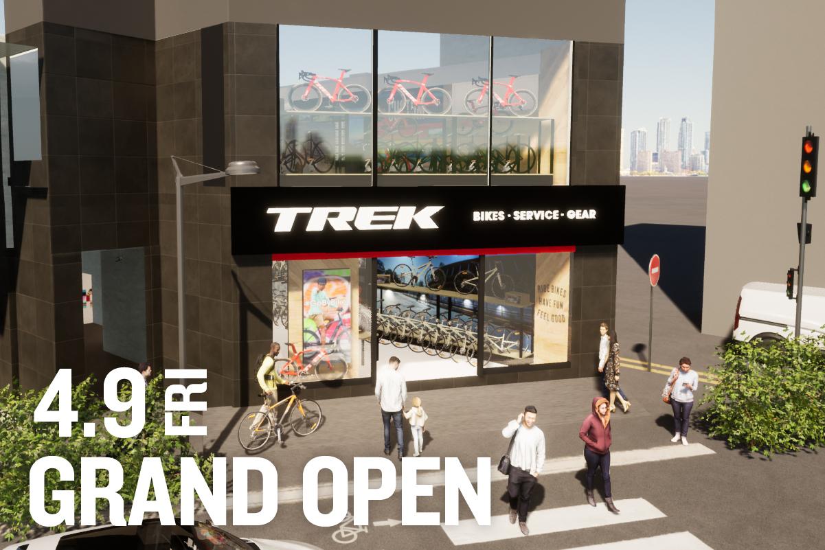 神保町駅より徒歩2分!「TREK Bicycle 東京神保町店」が4/9にGRAND OPEN