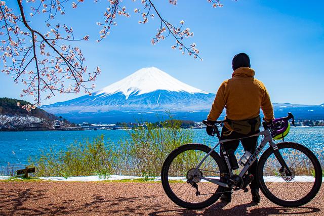 お花見サイクリングへGO!テンチョー望月オススメ・山梨の花見スポット♪