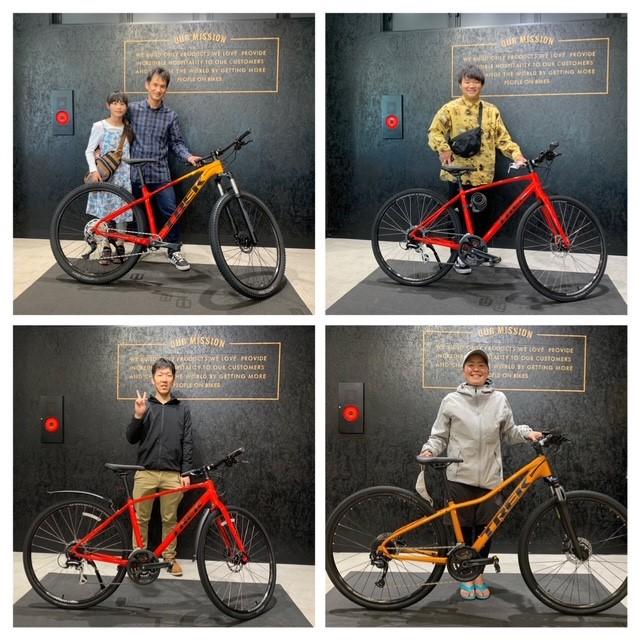 【Happy New Bikes Days!】お気に入りカラーの自転車で楽しむ春♪