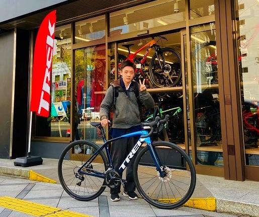 【Happy New Bike Day ! 】大阪梅田店ご納車シーン~Émonda SL5~
