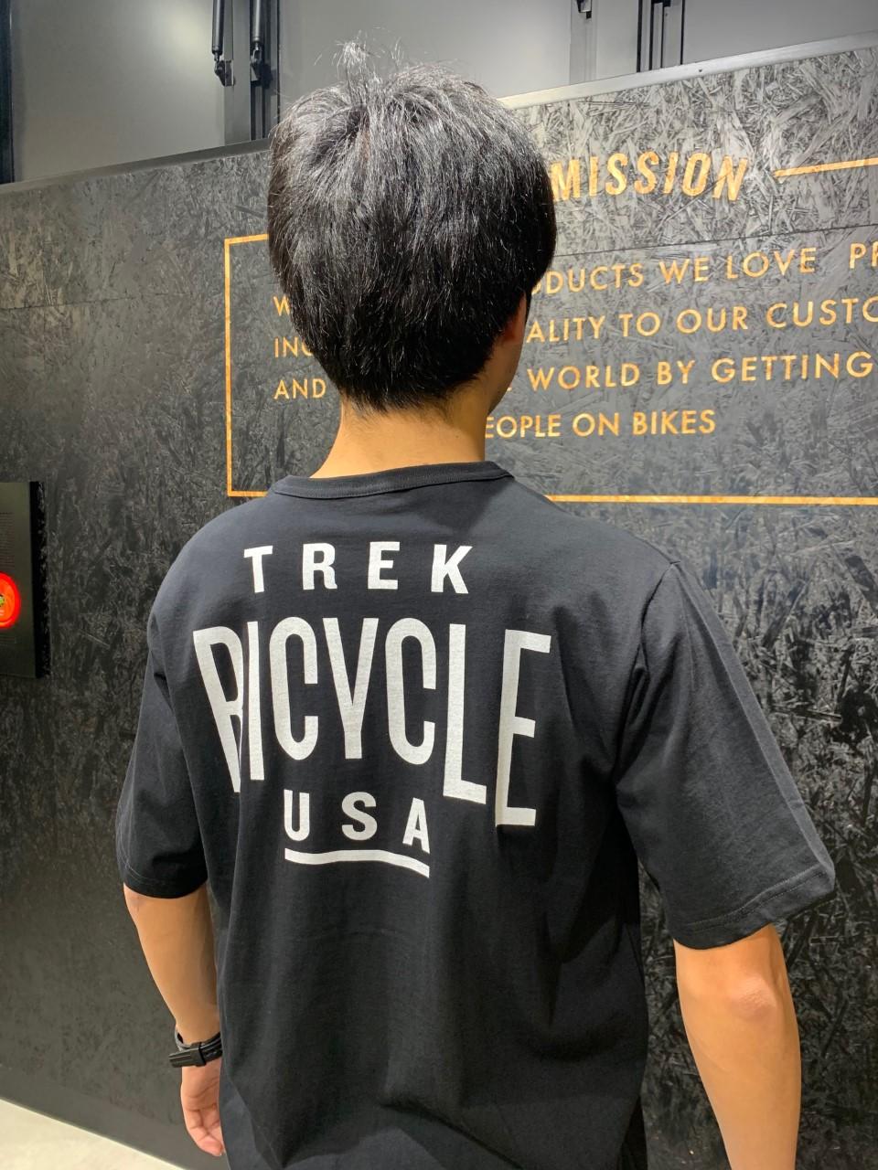 【新商品入荷】TREK直営店オリジナル!オシャレなTシャツ揃っています。