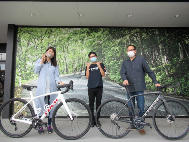 【Happy Bike New Day !】~宇都宮店納車シーン~Emonda SL6 Disc・Domane SL5
