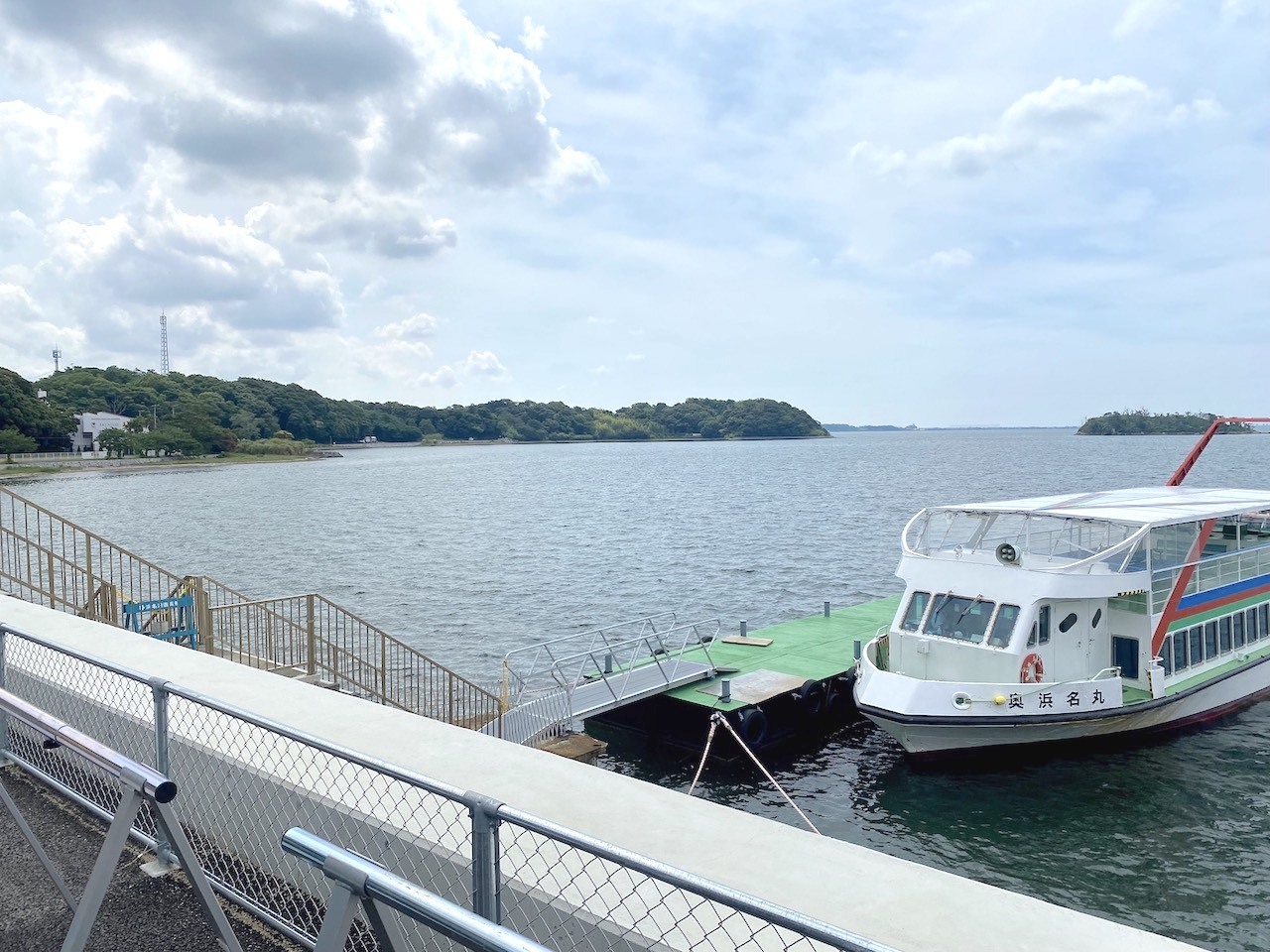 遊覧船に乗って浜名湖をクルージングライド!