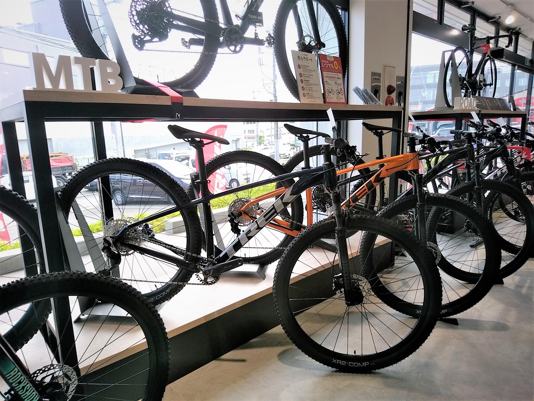 【マウンテンバイク在庫状況】TREK Bicycle 仙台泉中央店 ※6月18日現在