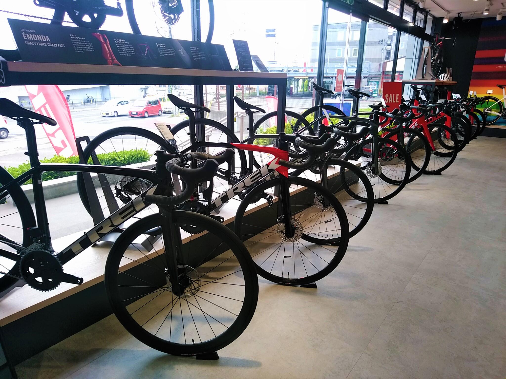 【クロスバイク、ロードバイク在庫状況】TREK Bicycle 仙台泉中央店 ※7月9日現在