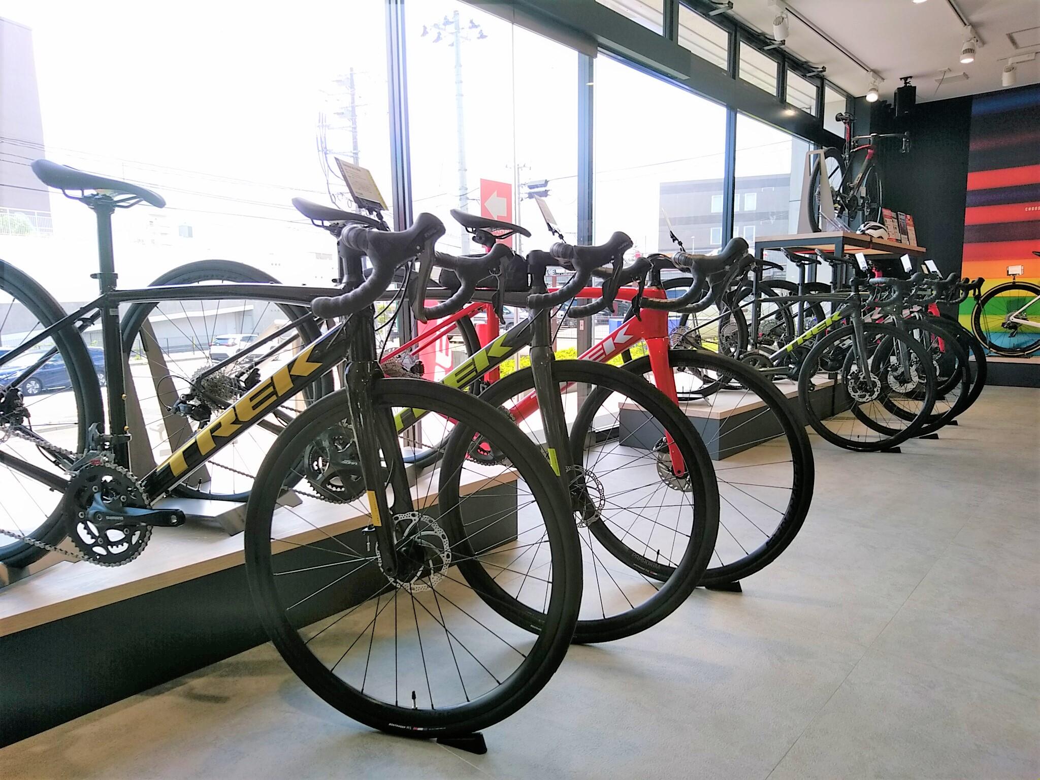【クロスバイク、ロードバイク在庫状況】TREK Bicycle 仙台泉中央店 ※8月1日現在