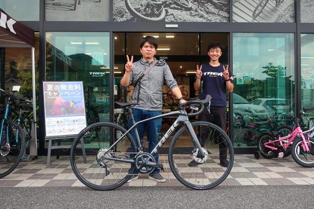 【Happy Bike New Day !】~甲府店納車シーン~Émonda SL6 Disc