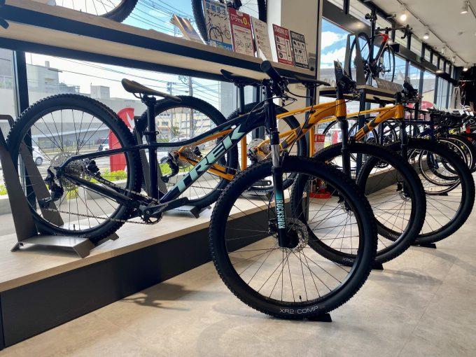 【マウンテンバイク在庫状況】TREK Bicycle 仙台泉中央店 ※8月27日現在