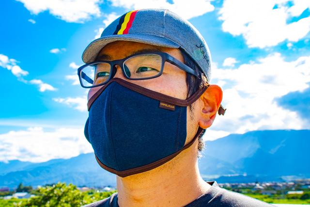 カペルミュールのオシャレなマスクやキャップ、甲府店にあります♪