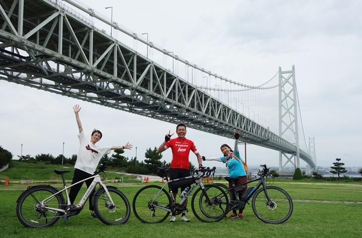 【スタッフライド】e-bike&グラベルバイクで行く淡路島サイクリング!