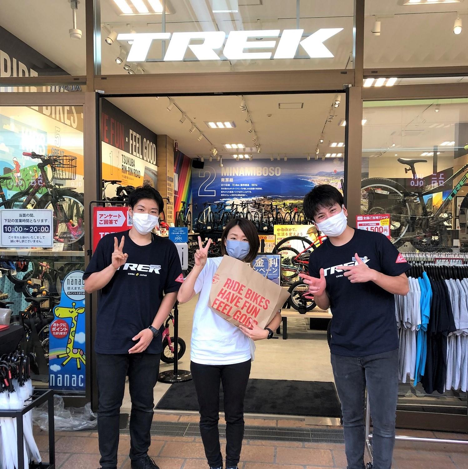 【Youtube動画】『tom's cycling』YOPIさんが千葉アリオ市原店のオープニングにご来店!