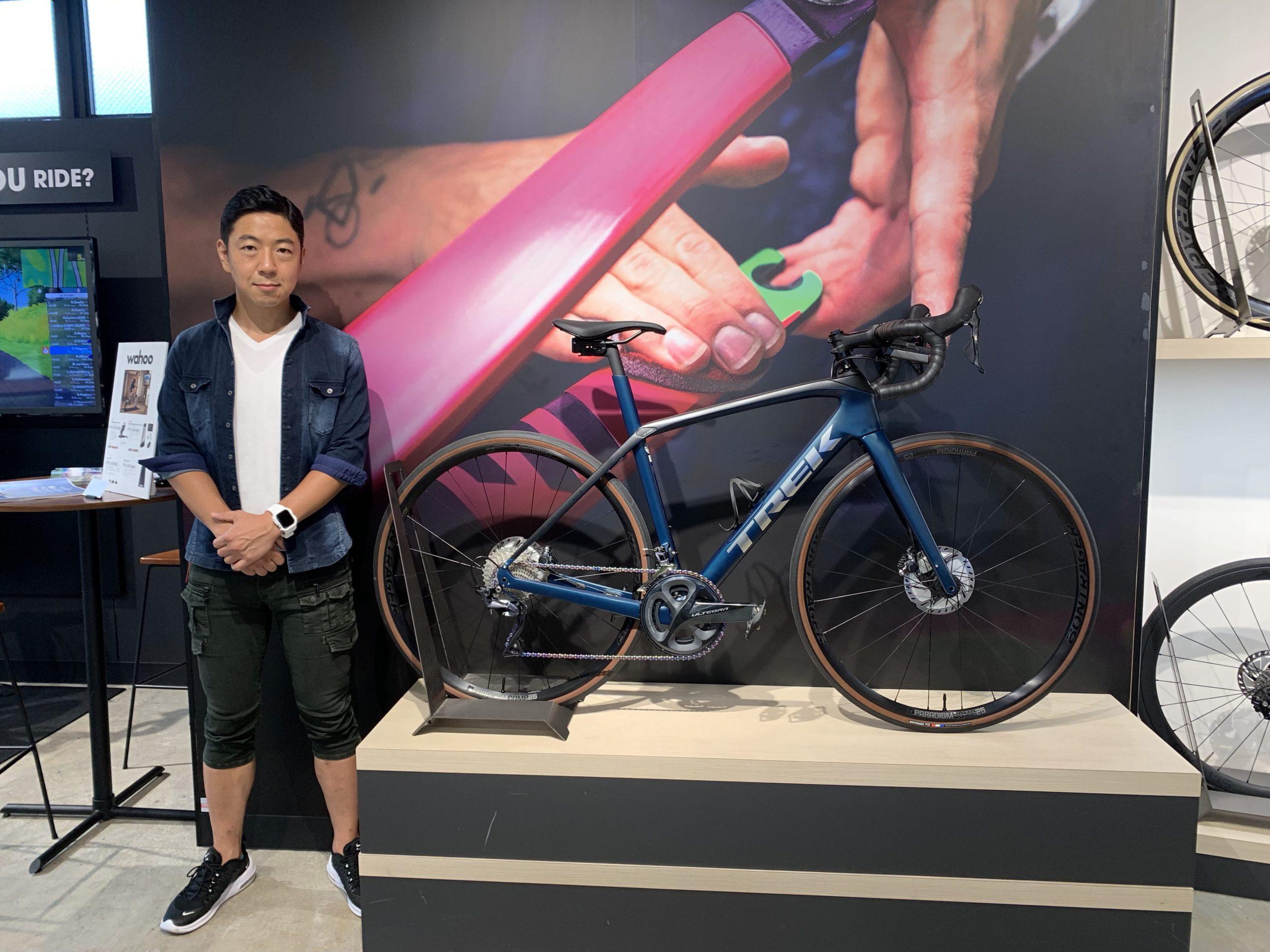 【Happy New Bike Day】横浜店ご納車シーン~Domane SL 6~