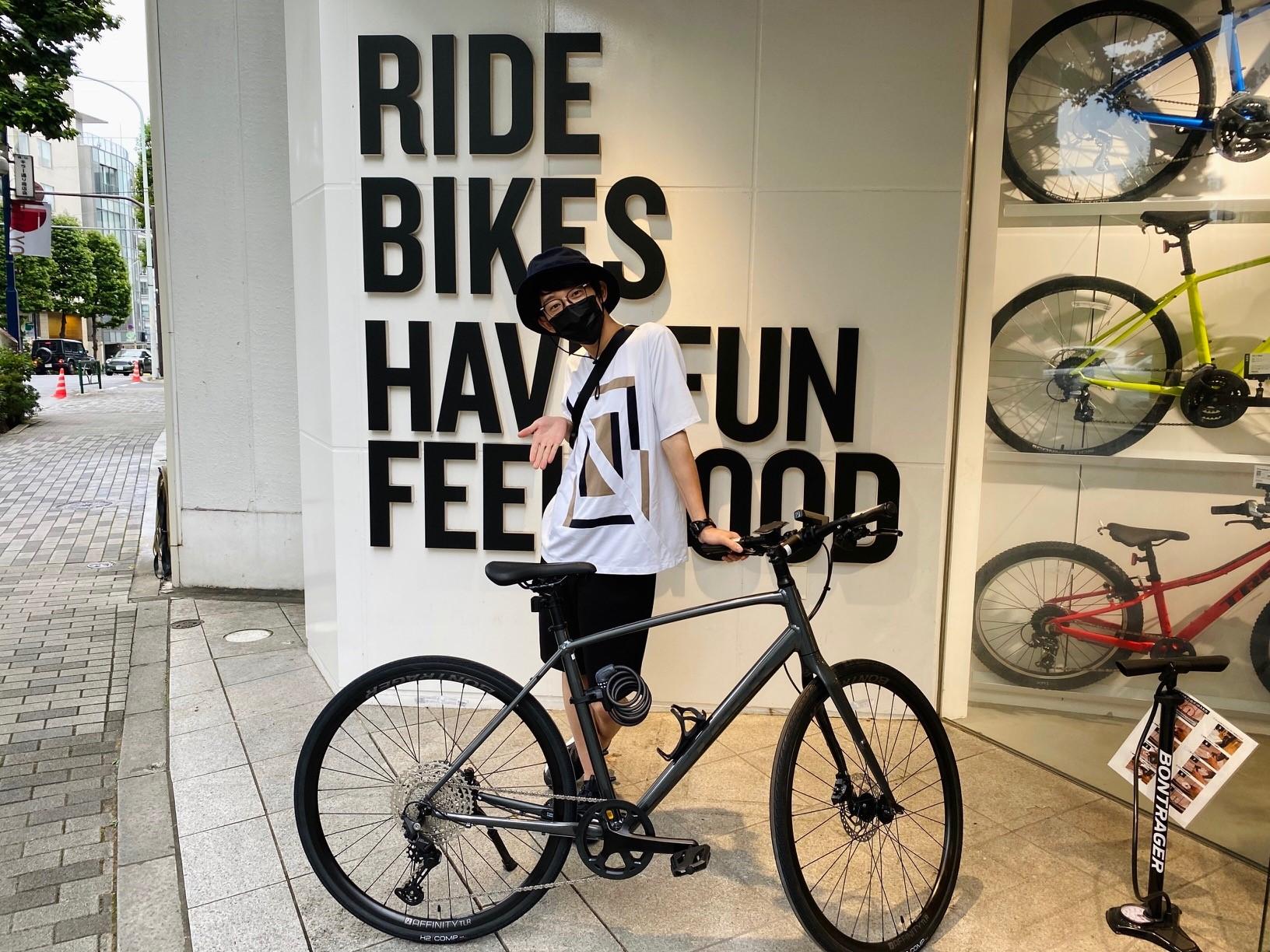 【Happy New Bike Day】シンガーソングライター川崎鷹也さま × TREKクロスバイク